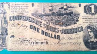 Richmond (IN) United States  City pictures : $1 Dollar 1862 Note - Confederate States of America - Richmond - US CURRENCY COLLECTION