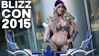 BLIZZCON 2015 - Epic COSPLAY - Diablo, Warcraft, WoW, Starcraft, Overwatch, Heroes of the Storm
