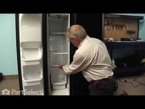 Refrigerator Repair - Replacing the Defrost Thermostat (Frigidaire Part # 5303918214)