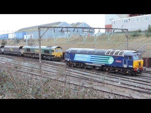 Crewe Salop Goods Junction 1/2/2014