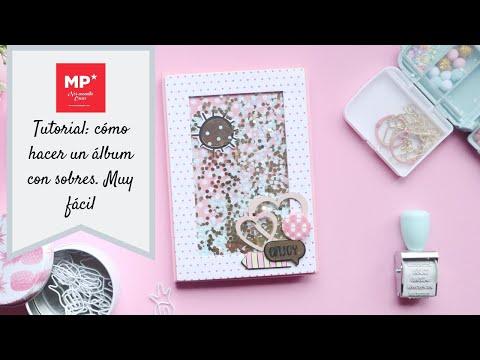 Uñas decoradas - Tutorial Scrapbooking: cómo hacer un minialbum de sobres