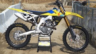 6. First Ride 2019 Suzuki RMZ250 - Motocross Action Magazine