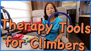 Therapy Aids for Climbers by The Climbing Nomads