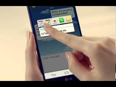 LG G2 - prezentacja funkcji Mobile Link