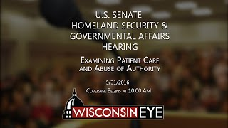 Tomah (WI) United States  city photos gallery : U.S. Senate Homeland Security and Governmental Affairs Committee