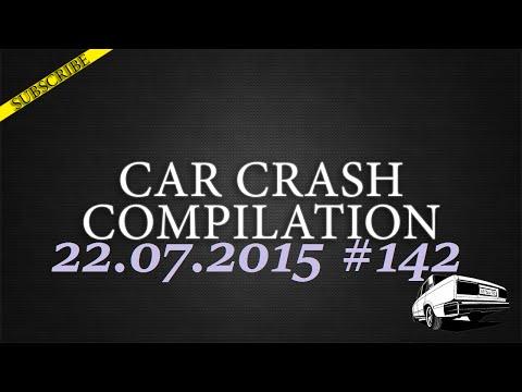 Car crash compilation #142   Подборка аварий 22.07.2015