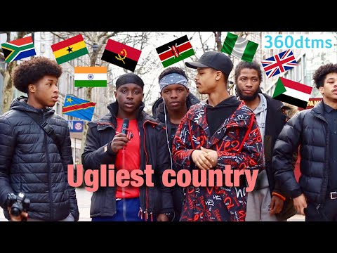 Which Country Has The UGLIEST PEOPLE? Ft Reubz4k