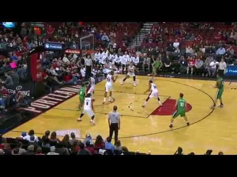 Thomas - Check Thomas Robinson protect the rim with a huge block in preseason action. About the NBA: The NBA is the premier professional basketball league in the United States and Canada. The league...