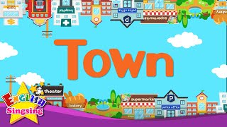 Kids vocabulary - Town