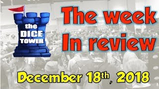 Week in Review  - December 17, 2018