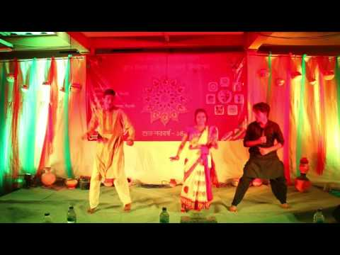 Dance Boisakhi Rong by Rabbina, Mehrab and Rafsan