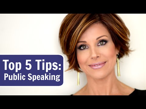 My Top 5 Public Speaking Tips