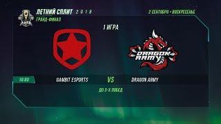 DA vs GMB — Гранд-финал, Игра 1 / LCL