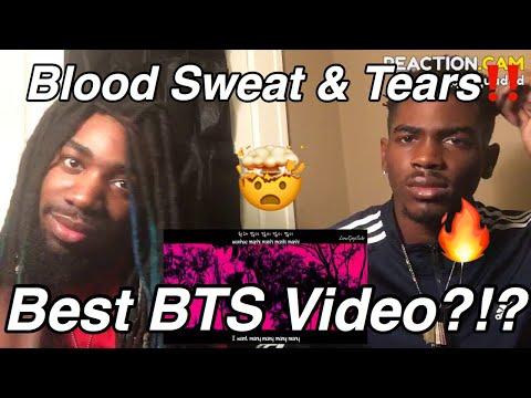 BTS - Blood, Sweat & Tears MV REACTION!!!