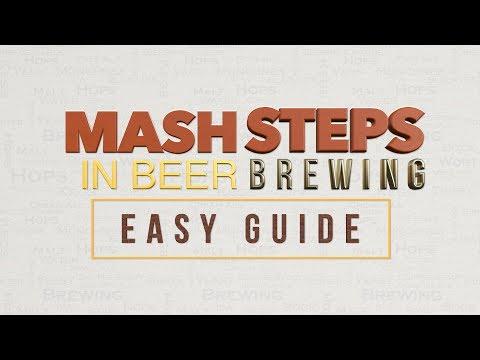 Mash steps in beer brewing easy guide