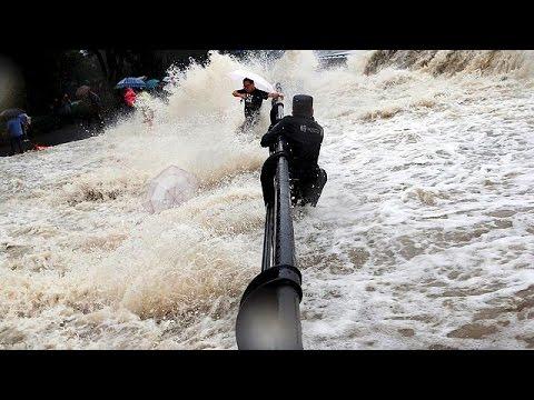 Κίνα: Νεκρούς και υλικές καταστροφές «άφησε» ο τυφώνας Ντουτζουάν