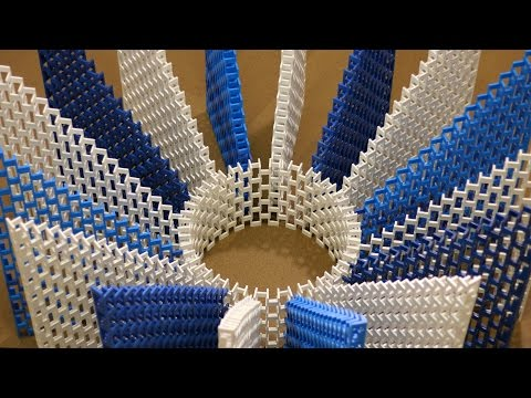 The 11 000 Domino Colosseum