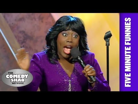 Sheryl Underwood⎢John McCain has a baby arm⎢Shaq's Five Minute Funnies⎢Comedy Shaq