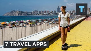 Traveling can be hard, especially if you're trying to hit the road or skies during the summer. These 7 apps can help make your traveling experience much easier and more pleasant.Read more: http://www.businessinsider.com/saiFACEBOOK: https://www.facebook.com/techinsiderTWITTER: https://twitter.com/techinsiderINSTAGRAM: https://www.instagram.com/businessinsider/TUMBLR: http://businessinsider.tumblr.com/