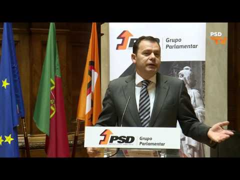 Luís Montenegro na Conferência do GPPSD sobre