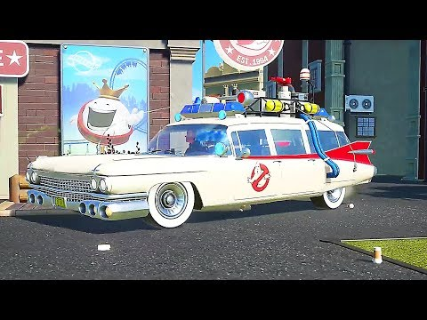 """PLANET COASTER """"Ghostbusters"""" Bande Annonce (2019)"""