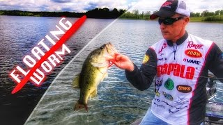 Video How to Fish a Floating Worm for Bass MP3, 3GP, MP4, WEBM, AVI, FLV Mei 2019