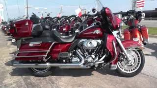 6. 601143 - 2009 Harley Davidson Ultra Classic FLHTCU - Used Motorcycle For Sale