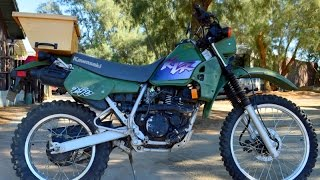 10. 2000 Kawasaki KLR250 Dual Sport Enduro For Sale www.samscycle.net