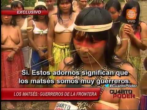 Los Matsés: guerreros de la frontera