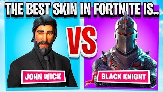 I ASKED 50,000 FORTNITE PLAYERS WHAT THE BEST SKIN IN THE GAME IS....
