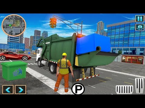 Garbage Dump Truck Driving Simulator 2018 (by Roadster Inc) Android Gameplay [HD]