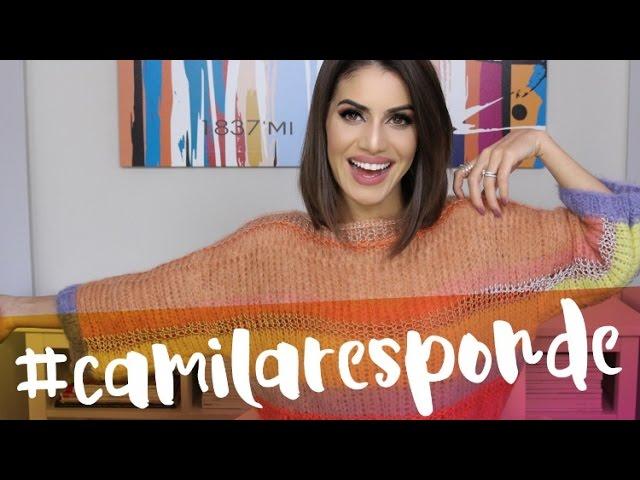 #CamilaResponde - Super Vaidosa