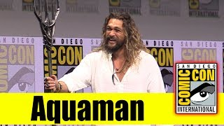 "Watch the Full Panel for ""Aquaman"" from the 2017 San Diego Comic Con with Jason Momoa Watch All Comic Con 2017 Panels ..."