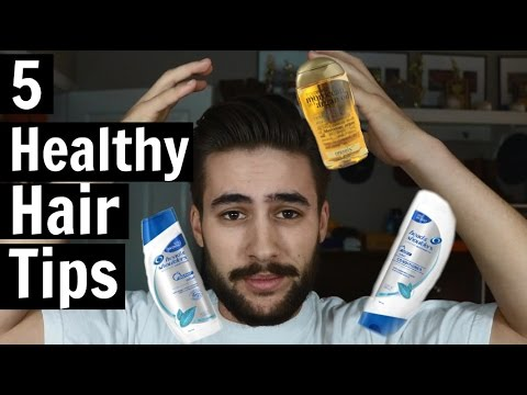 , title : '5 Healthy Hair Tips and Tricks | Mens Haircare | TheGentlemansCove'