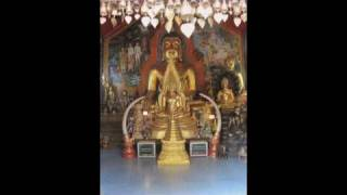 Doi Suthep Thai Buddhist Temple Northern Thailand - Music Lying Buddha