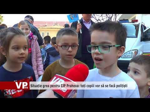 Situație grea pentru IJP Prahova: toți copiii vor să se facă polițiști