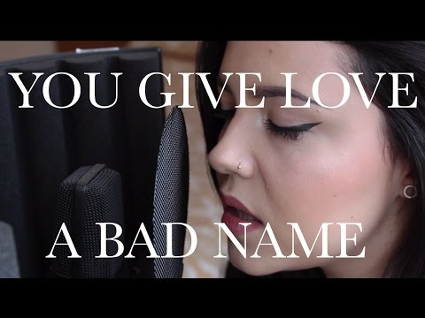 "Bon Jovi  ""You Give Love A Bad Name"" Cover by Violet Orlandi"