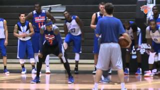 NBAの練習風景