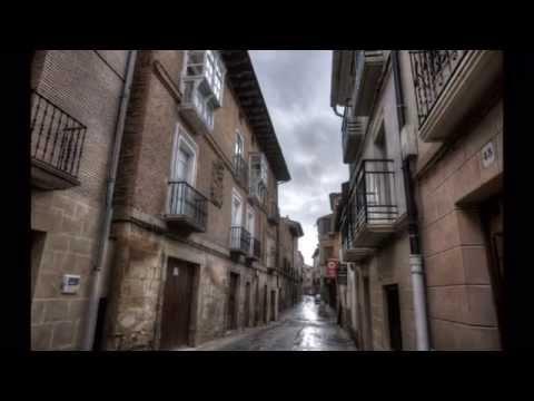 Navarra  070  LOS ARCOS  ciudad medieval  camino de Santiago