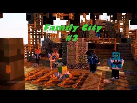 Minecraft Family City Bölüm #2 – But First Let Me Take A Selfie