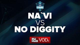 Na'Vi vs DiG, game 1