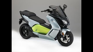 8. BMW C-Evolution Electric Maxi-Scooter Review - Moto Mouth Moshe #39