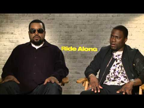 Ride Along: Ice Cube and Kevin Hart Official Movie Interview