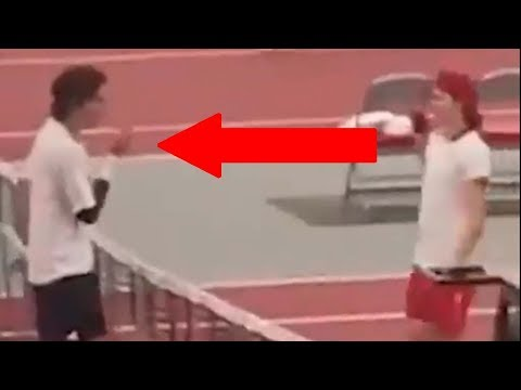 Tennis Punk Tries to Give Opponent a Spit-Covered Handshake After Losing Match
