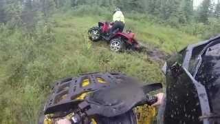 8. Polaris Sportsman 800 vs Can-Am Outlander 800! Part I