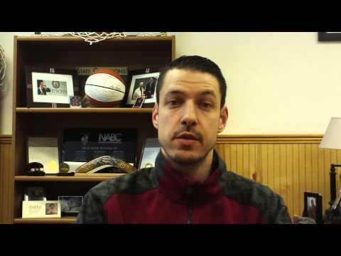 Matt Logie men's basketball Feb. 23, 2015