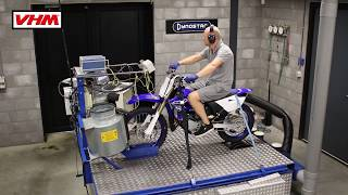 10. Yamaha YZ85 2019 Dyno test with VHM head and insert with Dyno graph