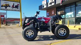 2. Taotao new atv bull 200 | 2018 overview | testdrive