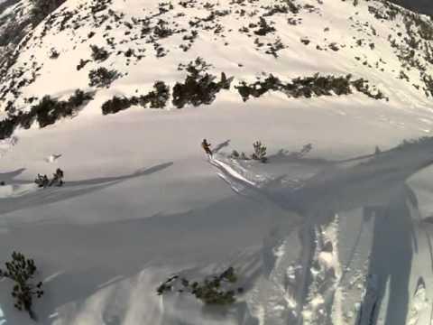 Skitour Serles (видео)