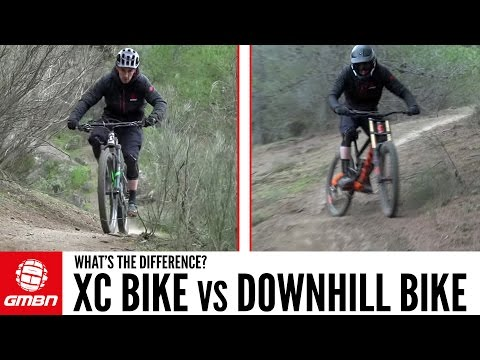 DH Bike Vs Cross Country Mountain Bike – What Are The Differences? (видео)